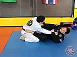 JJU 15-05 Scissor Sweep from Knee Shield