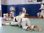 Single Leg Sprawl to Arm-in Collar Choke with Triangle or Sweep Options
