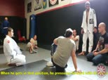 Saulo, Xande, and Leandro Lo Discussing the Double Move Pass and Knee Cross Pass - Reuploaded with New Subtitles
