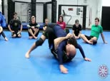 Inside the University 91 - No Gi Double Unders Butterfly to Half Guard Knee Pick Sweep or Limp Arm Against the Whizzer to Back Take