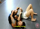 King of Anacondas with Milton Vieira 10 - Kimura Attempt to Leg Squeeze Choke