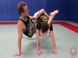 Jeff Glover Donkey Guard and Triangles 5 - Hanging Triangle from the Back against Shake Defense